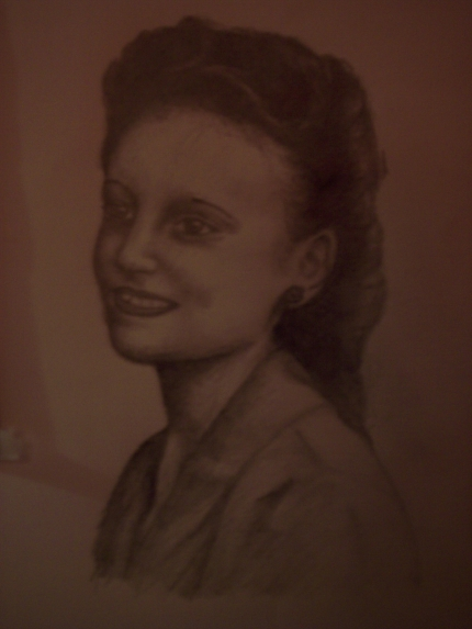sketch of my nana